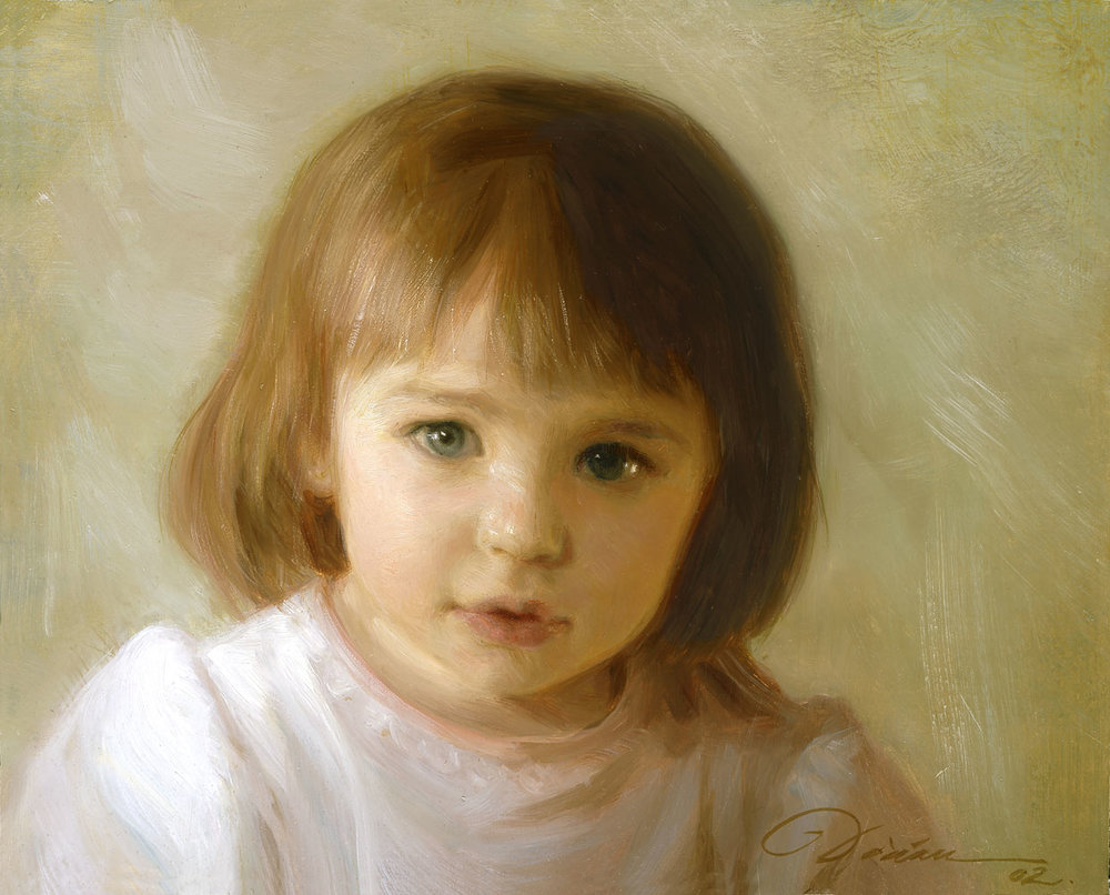 Traditional Oil Portrait - click to see the next painting