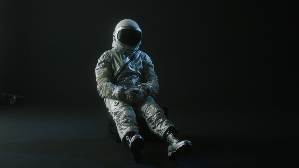 Later on, during the production shoot, I had the opportunity to act on-screen in a NASA Mercury-era replica flight suit, which was a dream come true :)