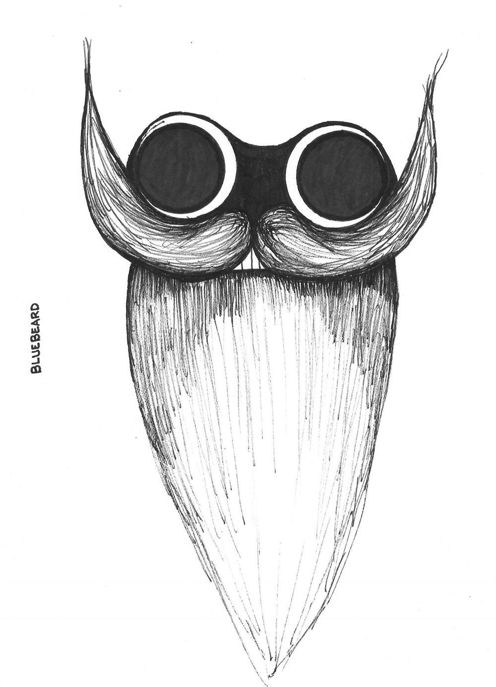 Bluebeard mask design