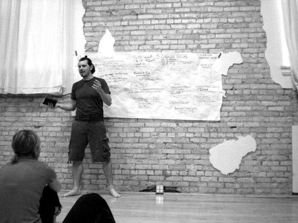 .faust, 2009, Sandbox Theatre