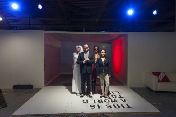 This is a World to Live In, 2013, Sandbox Theatre