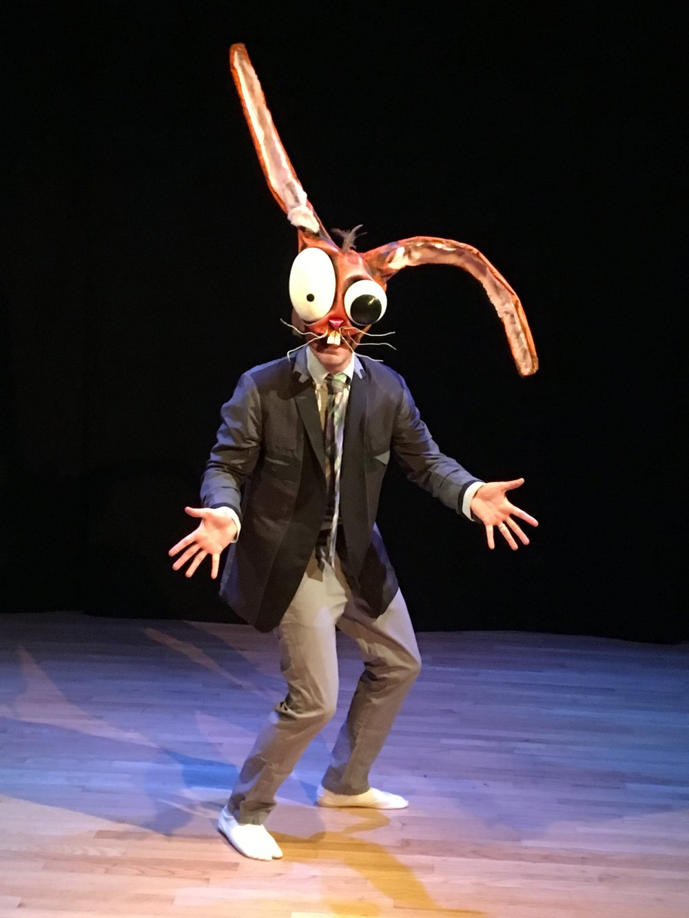 The Siege ; writer, performer, director, masks
