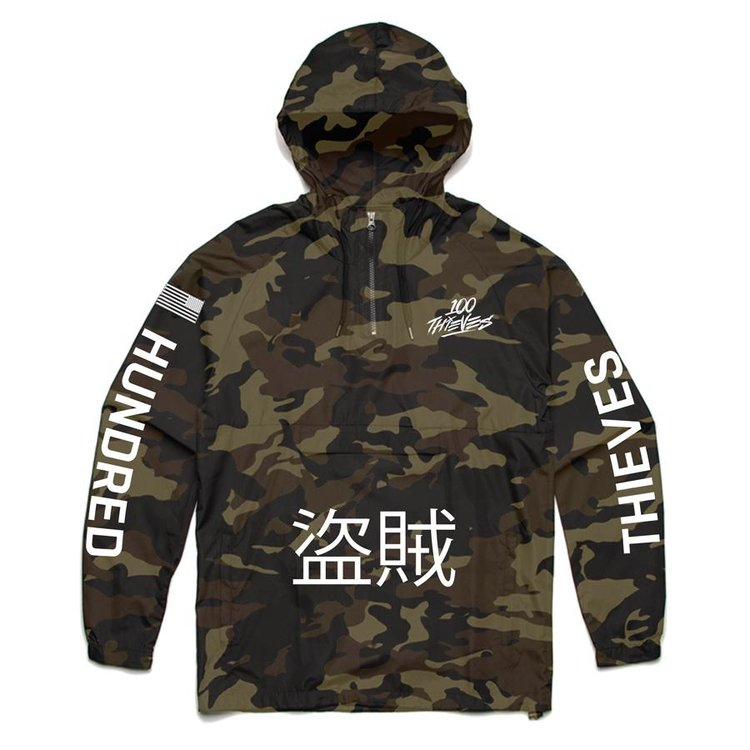 Thieves Windbreaker - Camo