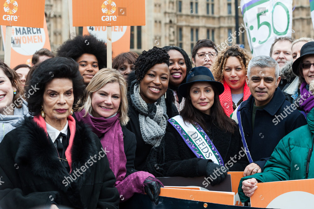 Bianca Jagger, Justine Greening, Shola Mos-Shogbamimu, Dawn Butler, Natalie Imbruglia, Salena Godden, Sadiq.jpg