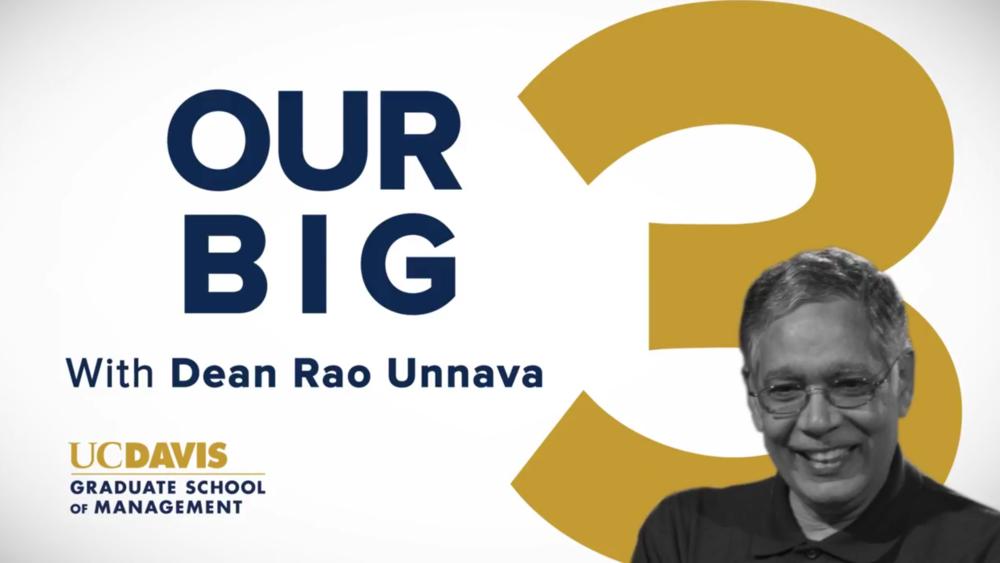 October Selection - UC Davis GSM Big Three Highlights