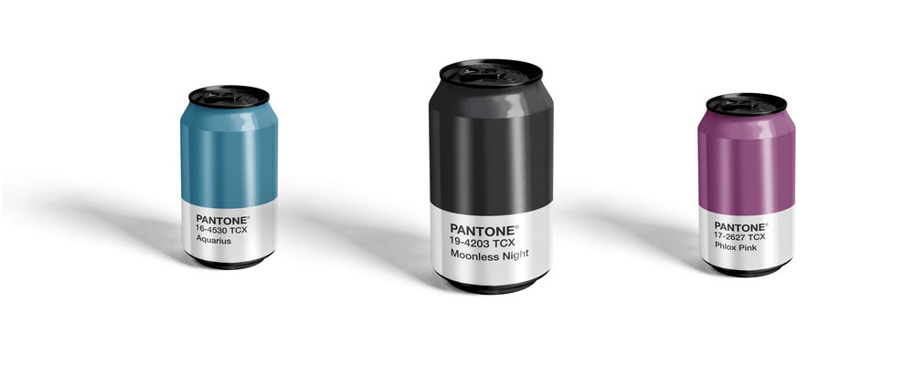 Pantone Cans