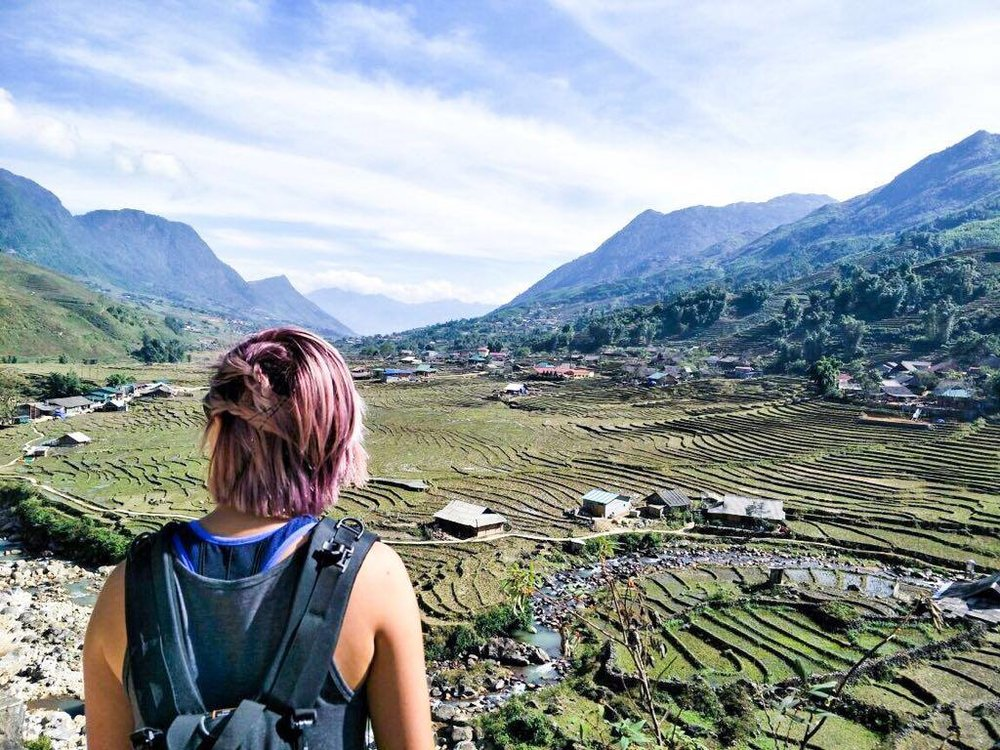 Looking out at nature - Sapa edition