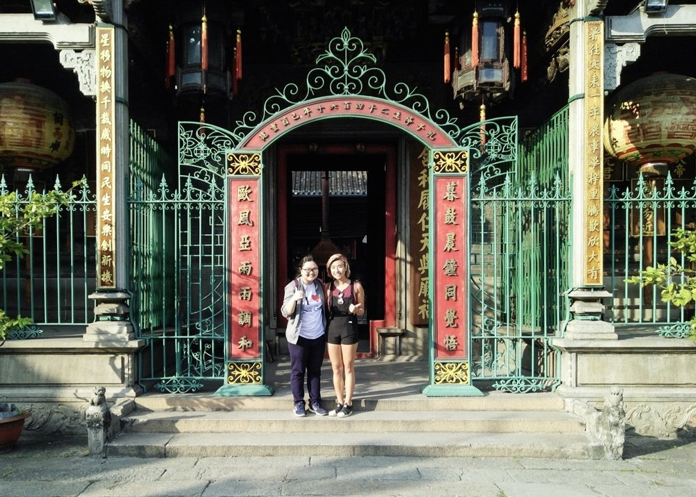 Me and Thao, my  tour guide from I Love Vietnam  - a social enterprise run by women that supports disadvantaged children in Vietnam.