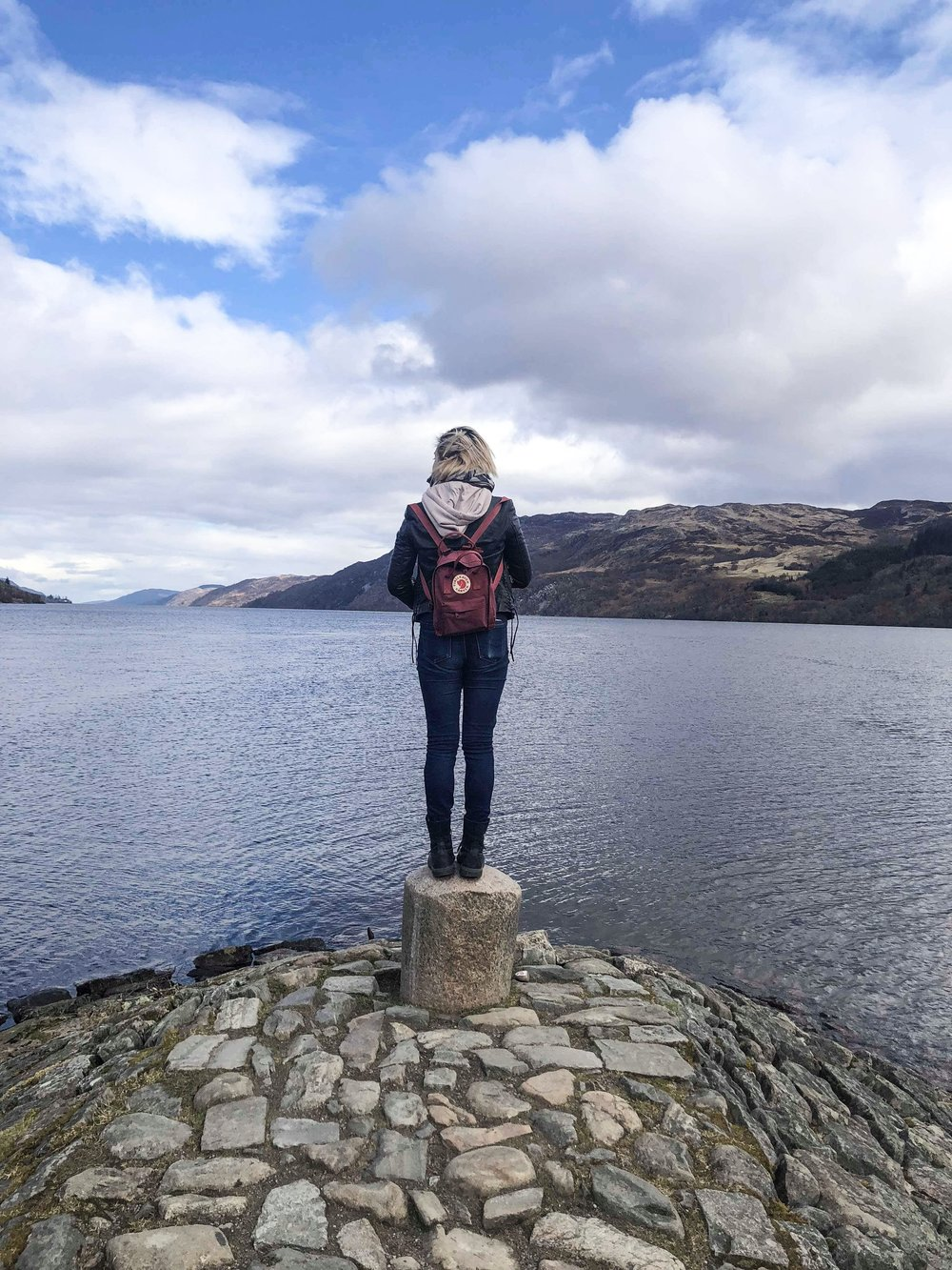 Looking for the Loch Ness monster, or for myself?
