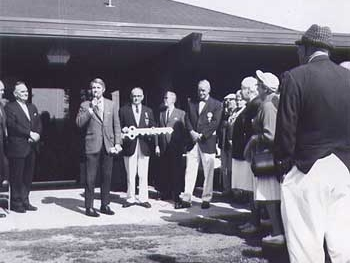 Dedication of the New Clubhouse (1970)