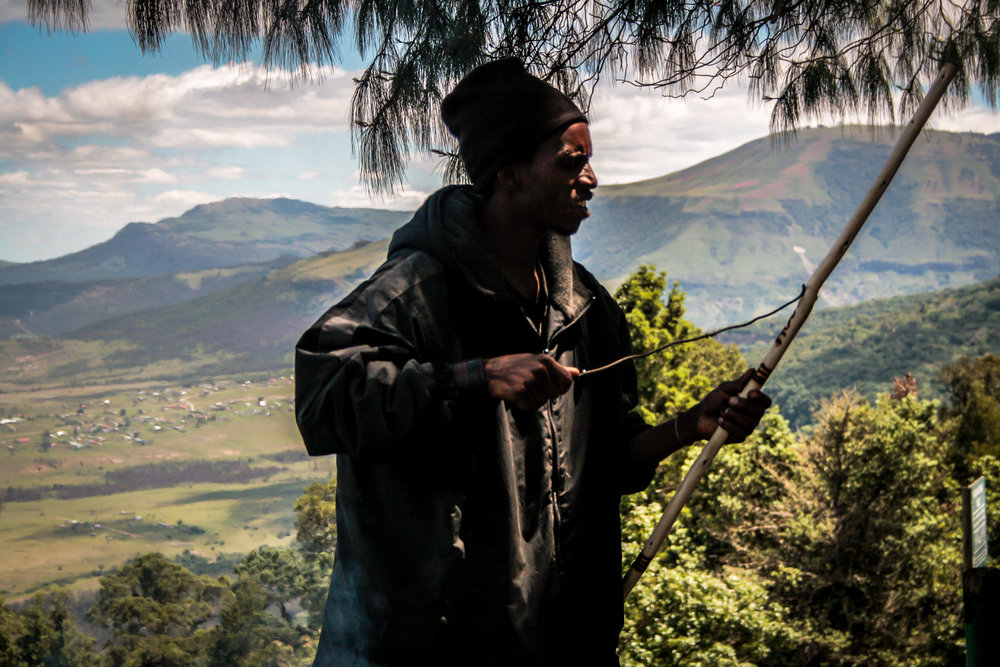 south africa 2017 | a man earning his money in hogsback.