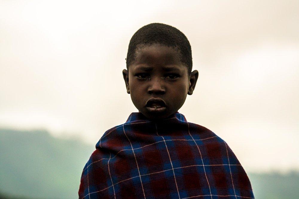 tanzania 2016 | a masaai boy in the highlands of arusha