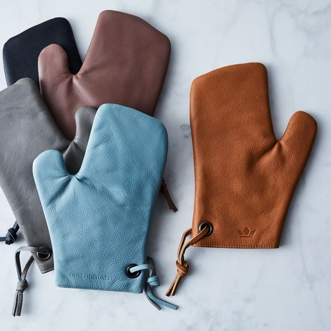 Dutch Leather Oven Mitt