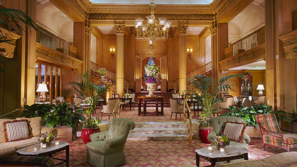 Fairmont Olympic Hotel Downtown Seattle