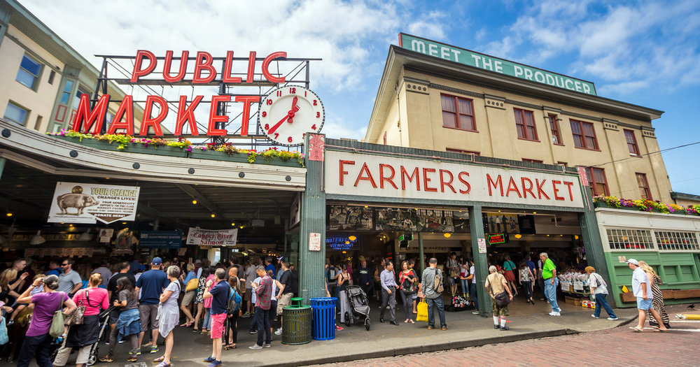 Pike Place Market Photo credit: Thrillist
