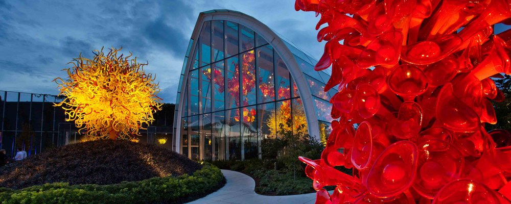 Photo credit: Chihuly Glass Glass & Garden Museum