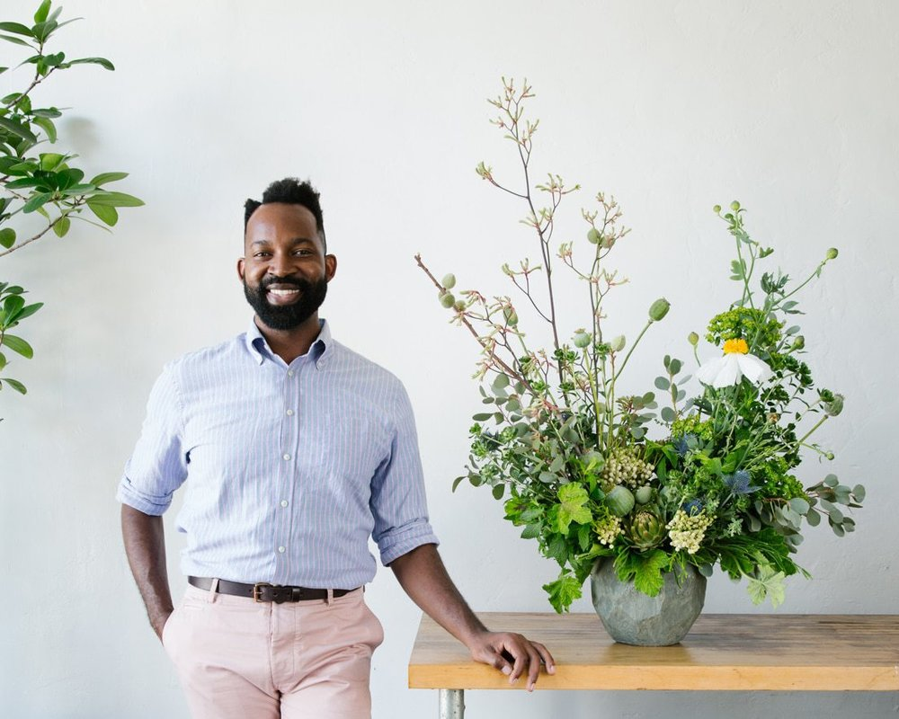 Maurice Harris of Bloom and Plume