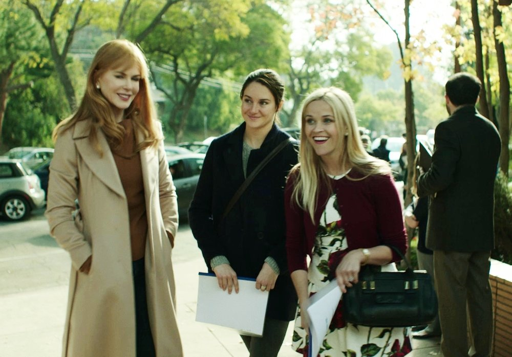 Nicole Kidman and Reese Witherspoon, in HBO's  Big Little Lies .