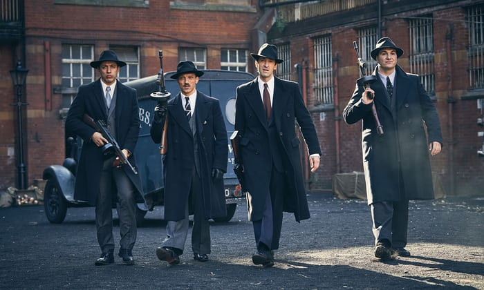 BBC2's Peaky Blinders is available to stream on  Netflix