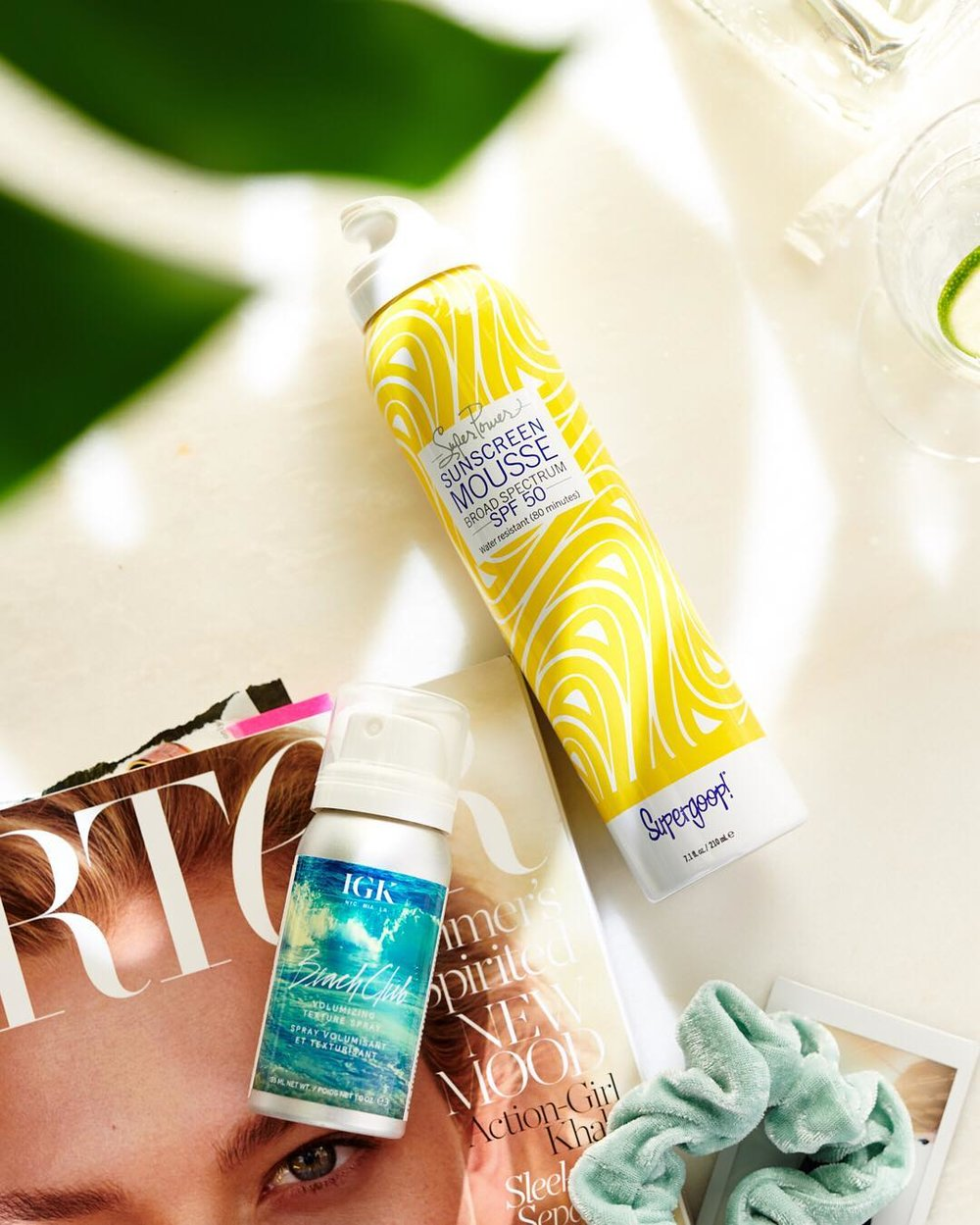 Supergoop Super Power Sunscreen Mousse