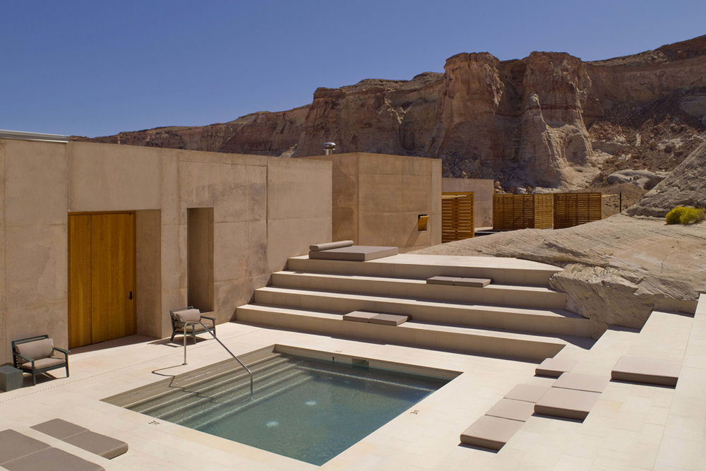 Hidden away in the Utah desert, Amangiri is a serene reprieve.