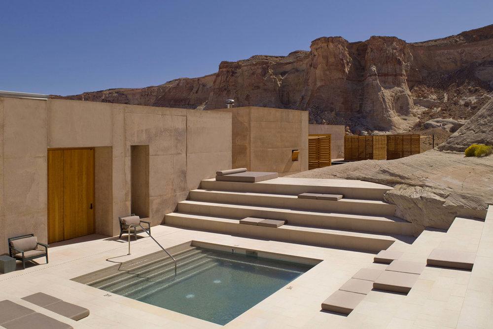 Hidden away in the Utah desert,Amangiri is a serene reprieve.