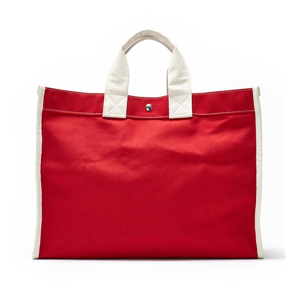 Utility Classic Field Bag - Red/Natural