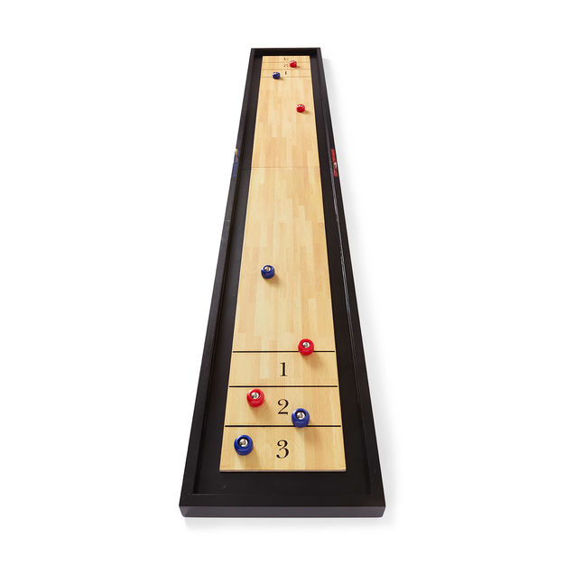 Tabletop Shuffleboard Game