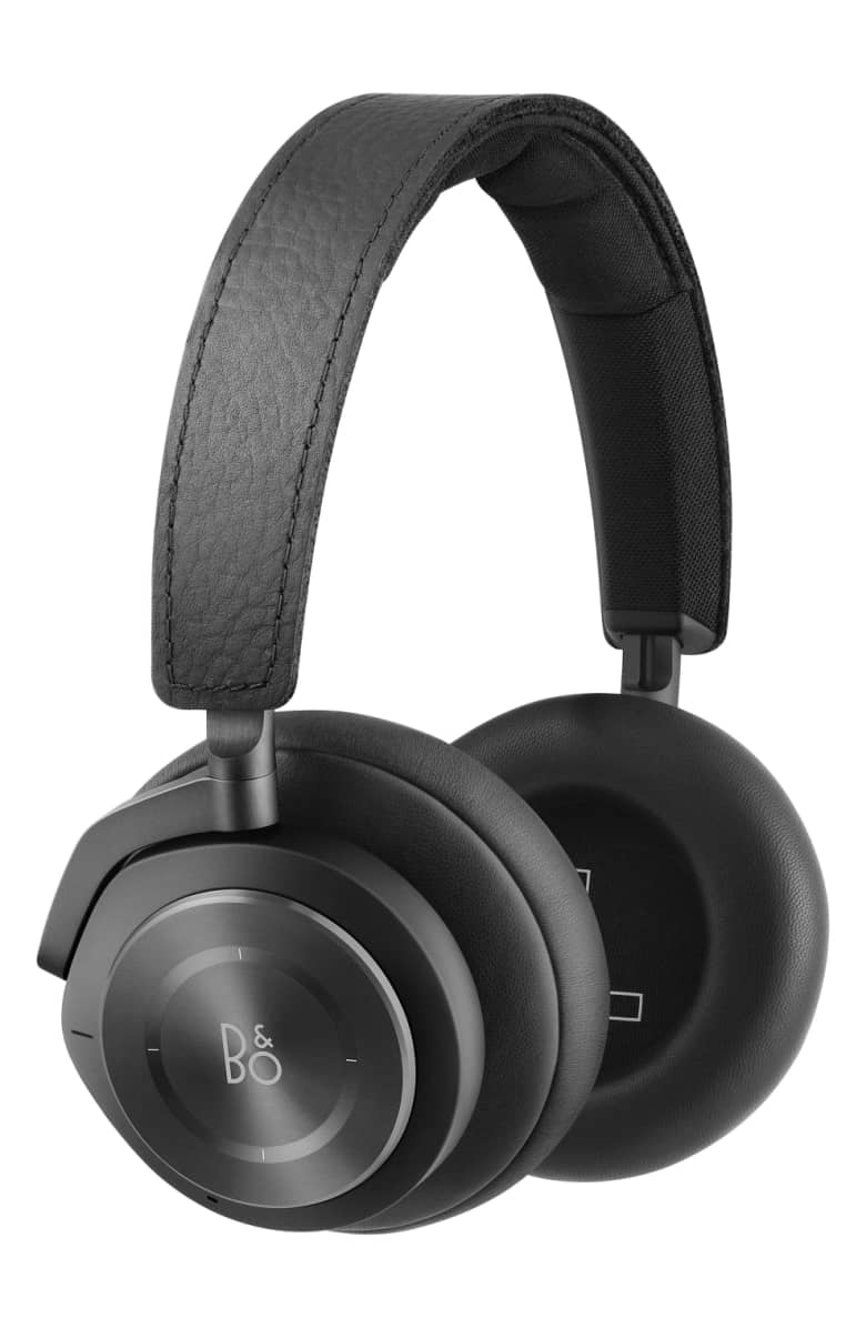 B & O Noise-Cancelling Wireless Headphones & Airpods