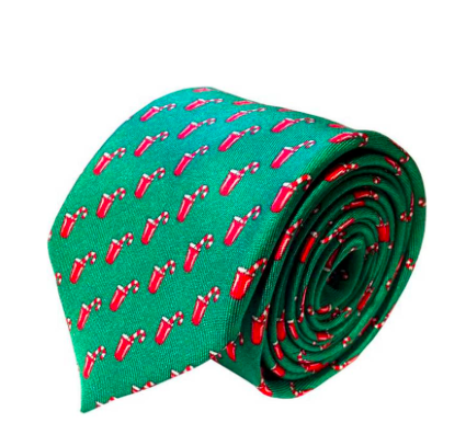 Naughty or Nice Silk Tie