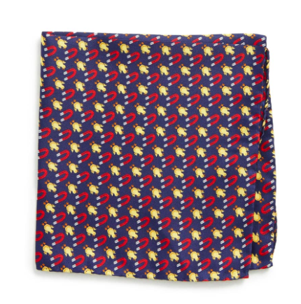 Chick Magnet Silk Pocket Square