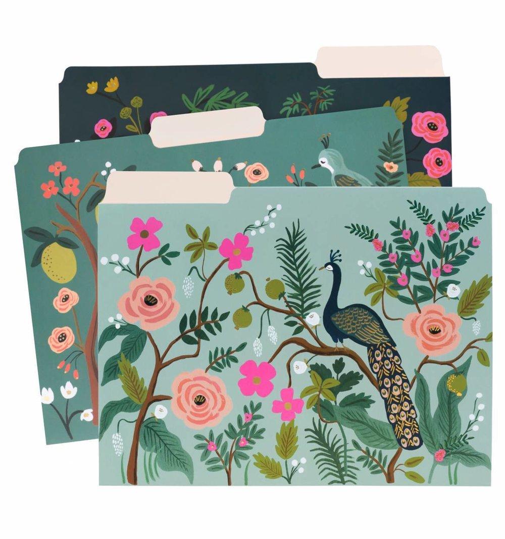 Everyday Assorted File Folders - Shanghai Garden