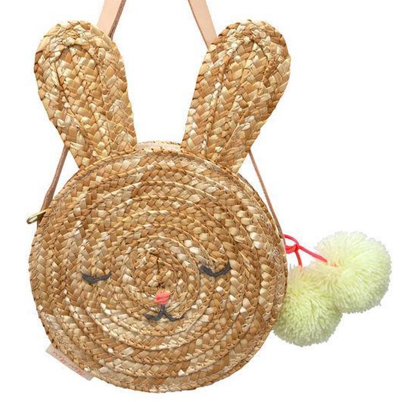Woven Bunny Bag