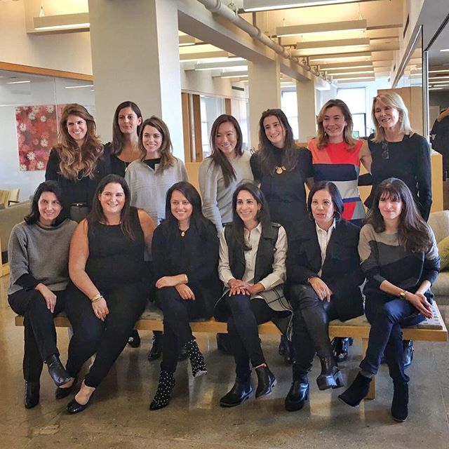 The power posse of women VCs who hosted NYC Female Founder Office Hours! 💪 #femalefounder #femalefounderofficehours #timesup #startups #womenintech #womenvc