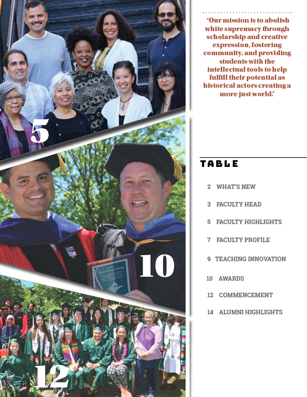 Table of contents -