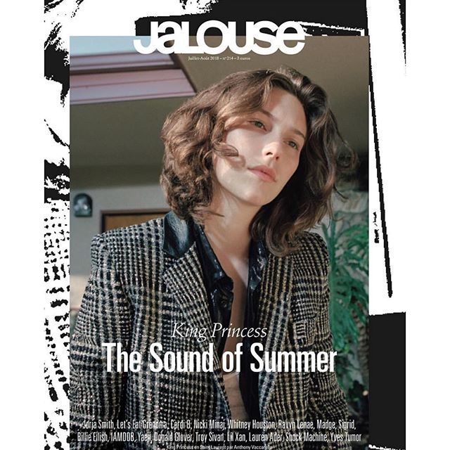 JALOUSE MAGAZINE \\ hair by @laurenpalmersmith and makeup by @olga_pirmatova at LOWE & CO.  Photographer: @danielregan_____  Talent: @kingprincess69  Stylist: @hennakristiina  #loweandcoworldwide #loweandco #jalousemagazine #kingprincess