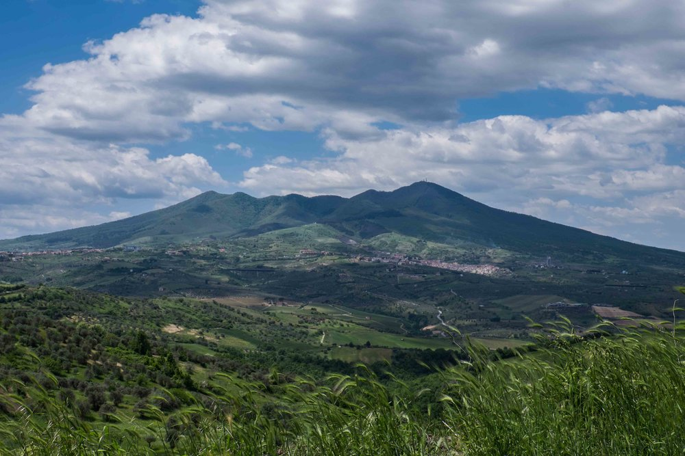 Monte Vulture, Basilicata |  ©John Szabo (published by Jacqui Small)