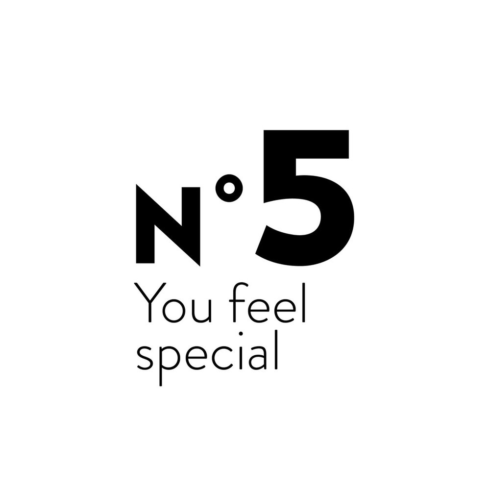 You feel special - You do not like mass market and industrial mainstream stuff. You prefer small confidential labels manufacturing quality with taste, heart and soul.