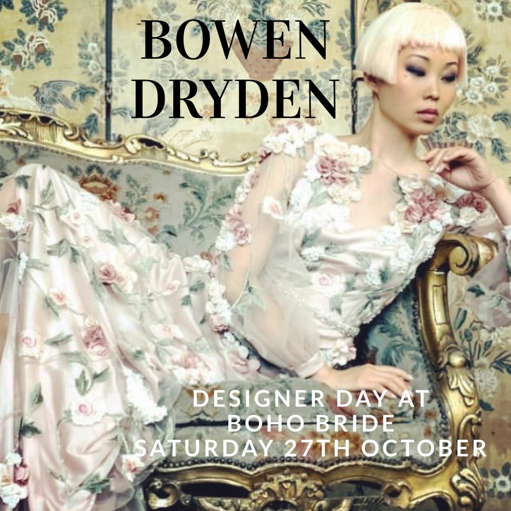 Boho Bride Designer Day Bowen Dryden