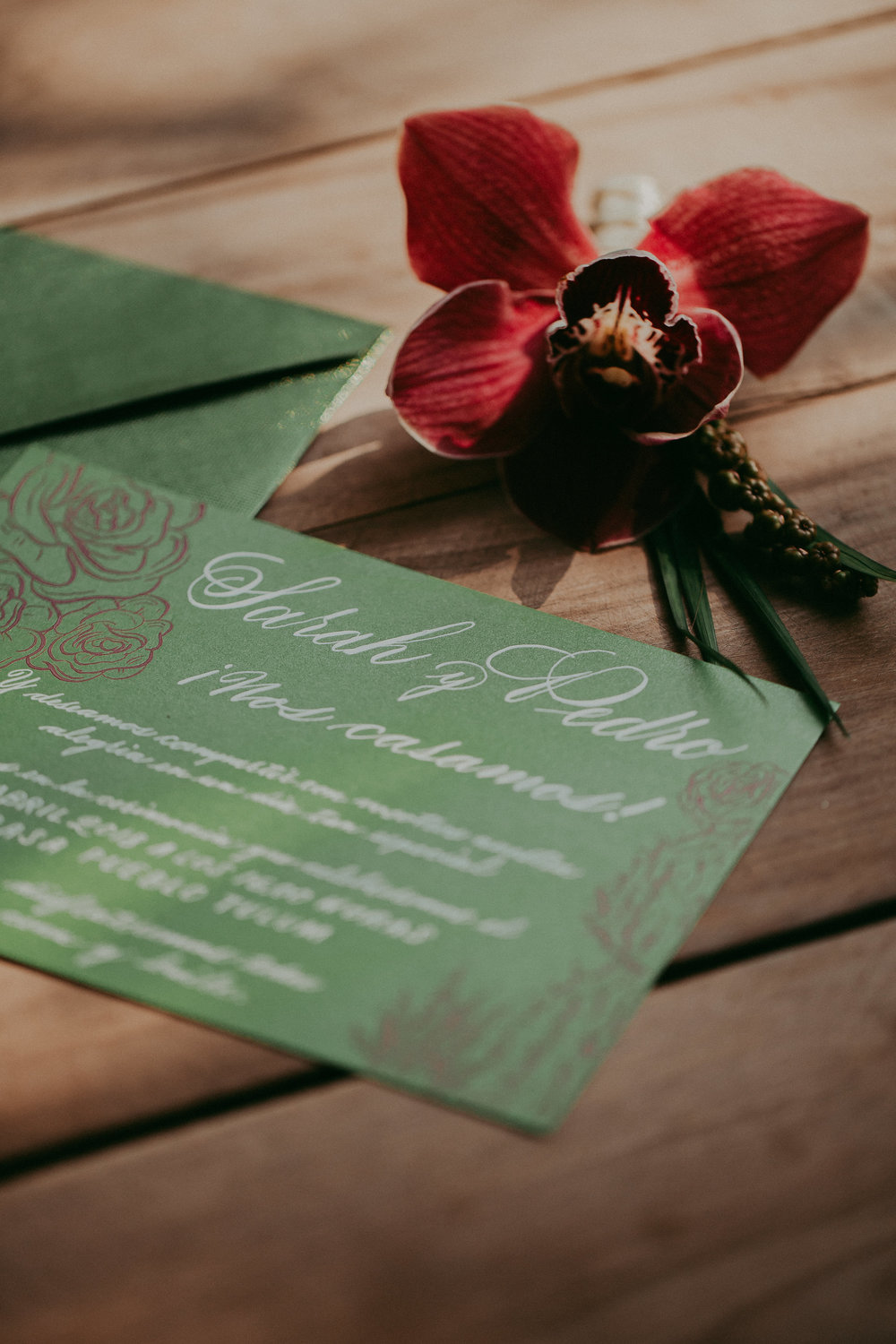 photo by Button Up Photography   Stationery by Beautiful Letters