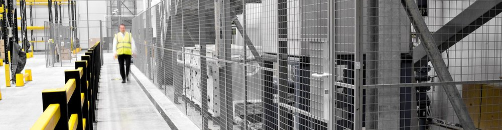 Mesh & Steel Partitioning