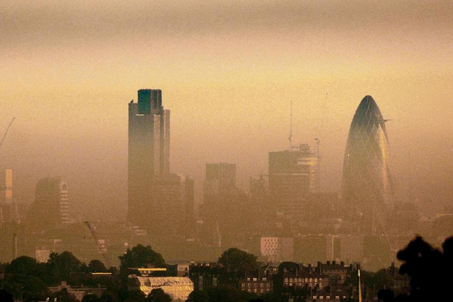 Dangerously high amount of toxic particles in London air - _