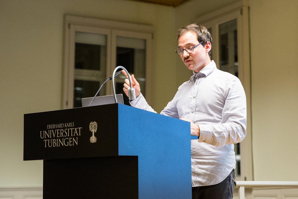 Philipp Rhein kommentiert den Vortrag von Stephan Lessenich.