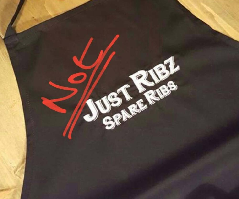 Not Just ribz apron.jpg