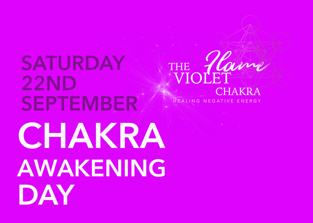 Violet Flame Chakra Awakening Day - A day of ascension and high energy immersion in the Violet Flame Chakra.Enable further sight and rapid spiritual awakening.Develop and support your healing abilities.Enjoy a relaxing day in the Sussex countryside with like minded spiritual souls.Book here10am - 4pmHerstmonceux East Sussex England