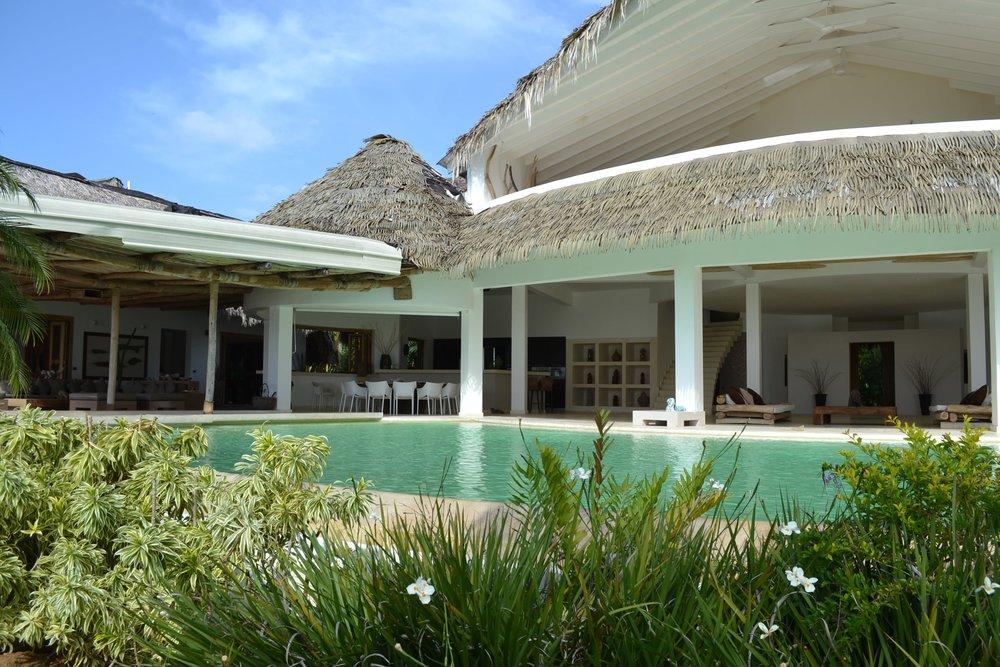 Villa for Sale Las Terrenas villa del mar front view 1.JPG