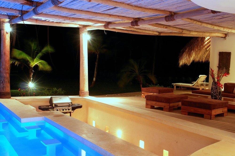 Villa for Sale Las Terrenas Pool bar villa del mar.jpeg