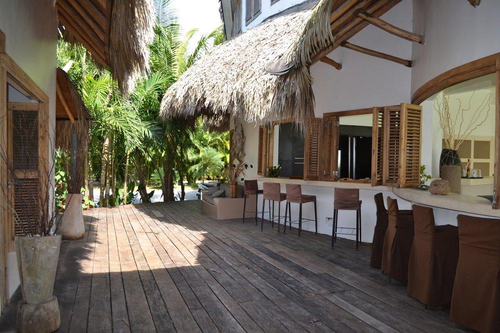 Villa for Sale Las Terrenas villa del mar bar.JPG