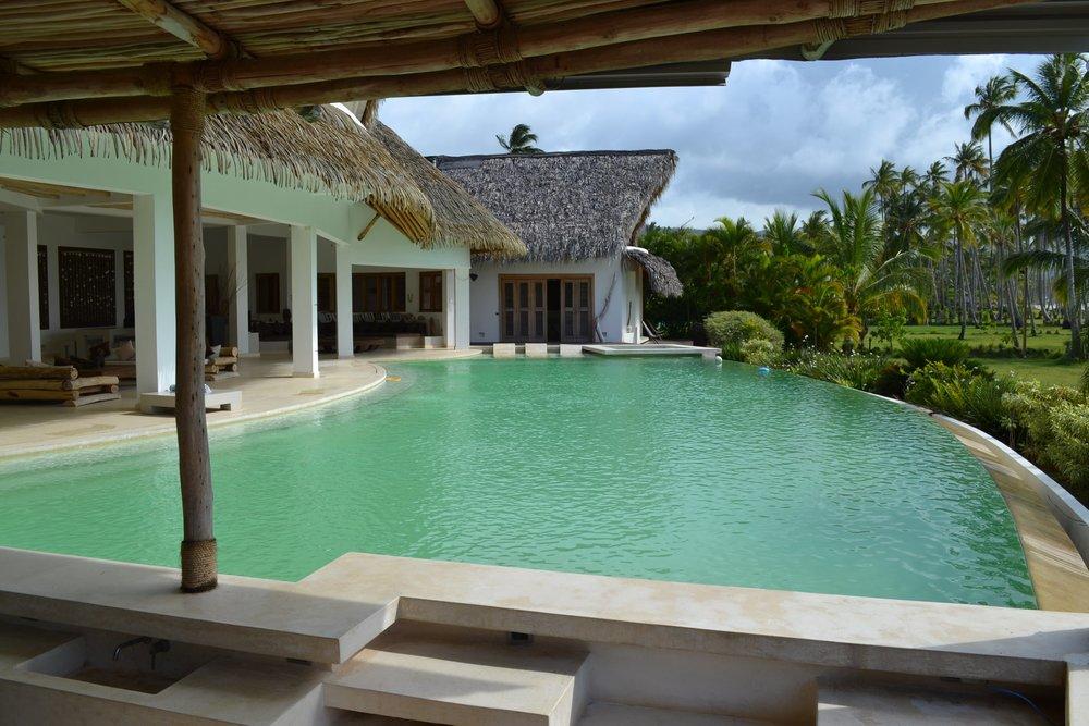Villa for Sale Las Terrenas Pool villa del mar.JPG
