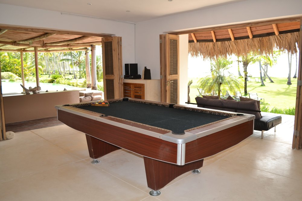 Villa for Sale Las Terrenas billard room.JPG